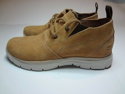 SKECHERS MENS RELAXED Fit Hinton Franken Mens Size 9 Style 64370 Lace Up