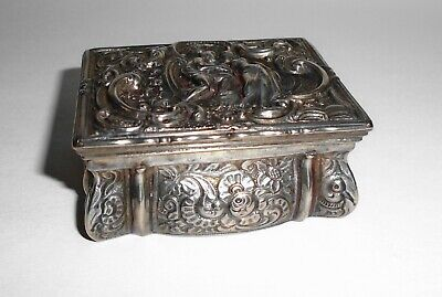 An 18th Century Silver Snuff Box; French; c.1740...1745