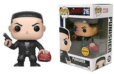 Funko Pop Marvel: Daredevil - Punisher Bobble-Head Chase Limited Edition #11092