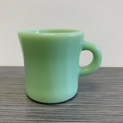 Fire King Jadite / Jadeite / Jade-ite Restaurant Ware Extra Heavy C Handle Mug