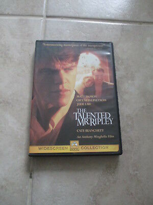 The Talented Mr. Ripley (DVD,1999) Matt Damon Gwyneth Paltrow Jude Law