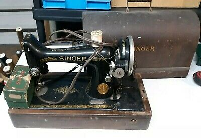 Vintage 1900s Singer 99k Sewing Machine Rare AA Edition Used Condition