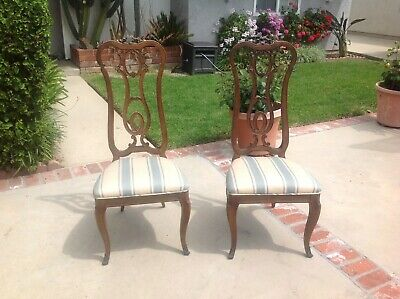 Antique Queen Anne side chairs