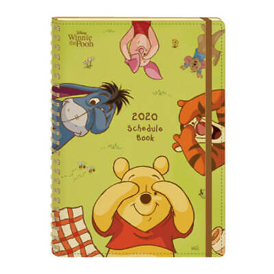 Winnie the Pooh Calendar Notepad Disney Piglet from 2019.10 to 2020.12 Japan New