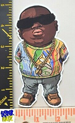 Notorious B.I.G UV Proof Vinyl Sticker~Biggie~Gangsta Rap~NYC~Brooklyn~Bad Boy