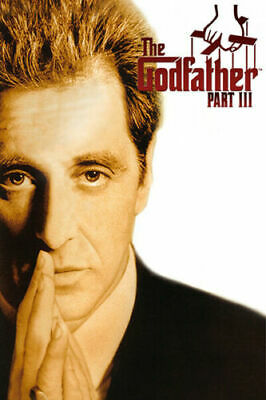 The Godfather Part III Al Pacino Classic Movie 03 Poster Wall Decor X-593