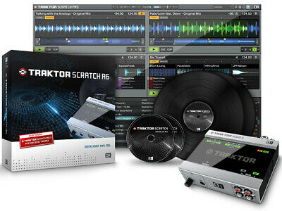 NATIVE INSTRUMENTS traktor scratch A6 scheda audio timecode
