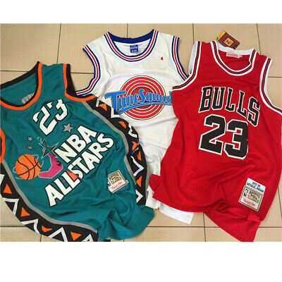 Michael Jordan # 23 Chicago Bulls Short de Basket-Ball Retro Maillots  Gilet