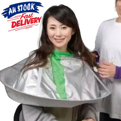 Adult Style Umbrella Cloak Barber Hair Cutting Apron Hairdresse Salon Cape