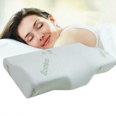 New Luxury Bamboo Memory Foam Pillow Soft Anti-bacterial Premium Support Ne R8Z3