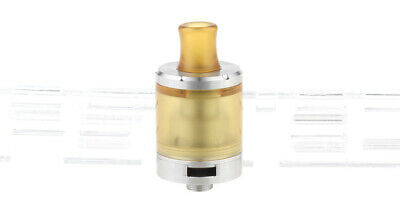 Dvarw MTL V2 Styled RTA Rebuildable Tank Atomizer Stainless Steel Color