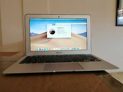 """Apple MacBook Air 11"""" Core i5 1.6ghz 4GB 128GB (Early 2015) OSX Mojave Office"""