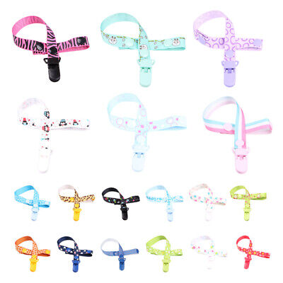 3X(Baby Pacifier Clip Chain Dummy Clip Nipple Holder For Nipples Children P C9L7