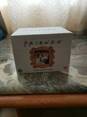 Friends Dvd Box Set Complete Series 1-10 15th Anniversary Collector's Edition