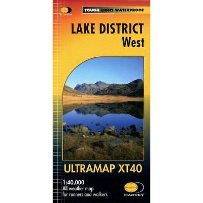 Lake District West Ultramap by Harvey Map Services Ltd