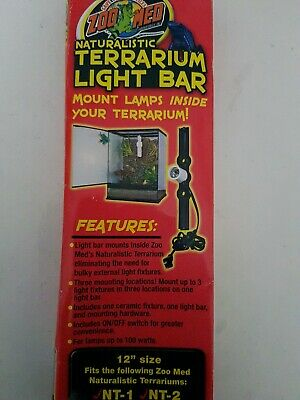 Zoo Med Terrarium Light Bar 12""
