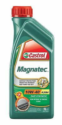 Castrol Magnatec Car Motor Engine Oil 10W-40 A3/B4 Part Semi Synthetic 1L