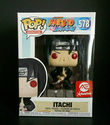 Funko Pop! Animation Naruto Shippuden Itachi AEC Exclusive + Protector