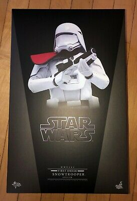 HOT TOYS First Order Snowtrooper Officer sixth scale NEW star wars MMS322