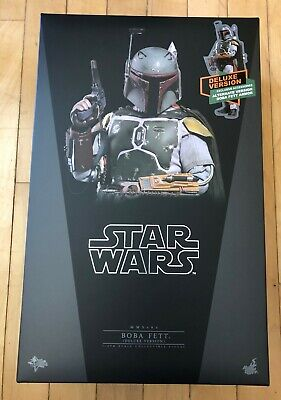 Hot Toys BOBA FETT - sixth scale NEW MMS464 Star Wars deluxe