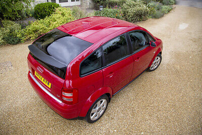 Stunning AUDI A2 1.4 SE 2002 37K miles only! Exceptional conditions
