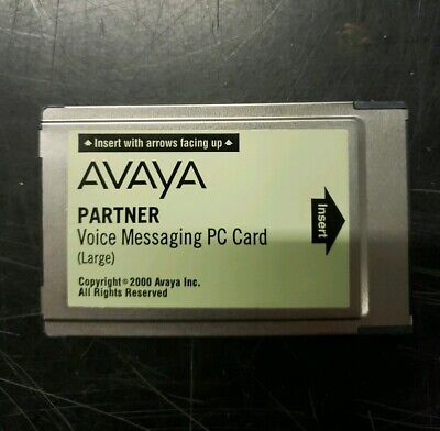 AVAYA Partner Voice Messaging PC Card Large CWD4