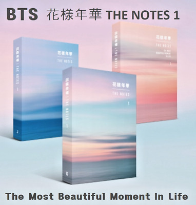 [BTS]花樣年華 THE NOTES 1 The Most Beautiful Moment In Life Free Shipping