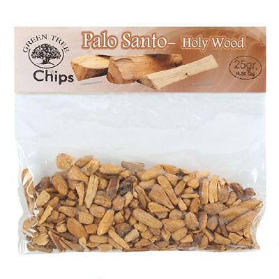 Palo Santo Pure Chips 25g Bursera Graveolens Incense Holy Wood Calming Cleanse