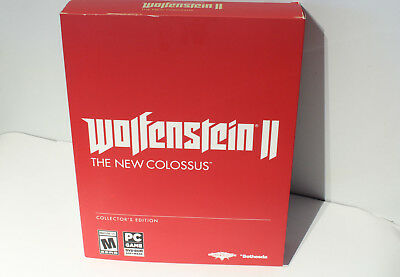 Wolfenstein II: The New Colossus - Collector's Edition (PC) Brand New - 2