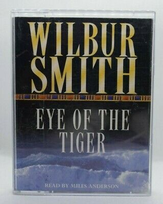 Wilbur Smith - Eye Of The Tiger -  Double Cassette Audio Book