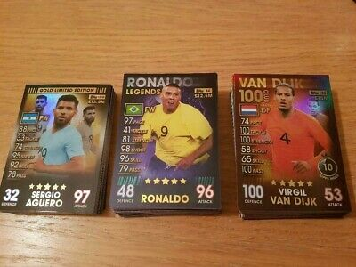 Match Attax 101 - Legends / 100 Club & Limited Edition