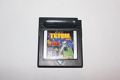 Tetris Dx Deluxe (Nintendo Gameboy Color GBC) Cart Only GREAT Shape Game Boy