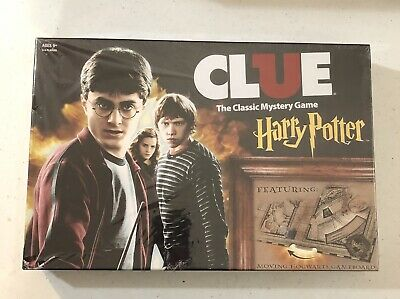 Clue Harry Potter Special Edition Classic Mystery Board Game USAopoly NEW SEALED