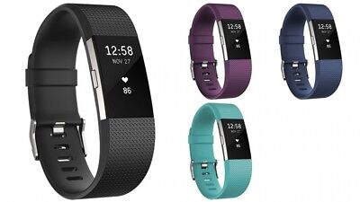 Fitbit Charge 2 HR Heart Rate Monitor Fitness Tracker Watch Wristband