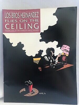 FLIES On The CEILING 1991 Los Bros Hernandez Sft. BOOK Love & Rockets Collection