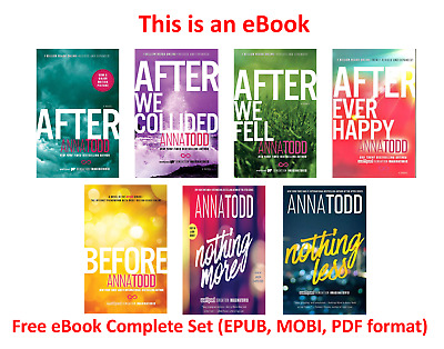 After Series (1-7) by anna todd Complete Set [ E-B00K, PDF, EPUB,]