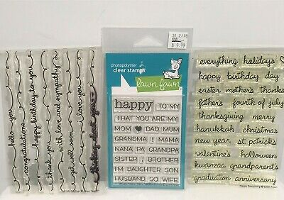 FAMILY WORDS CLEAR RUBBER STAMPS-PEOPLE NAMES STAMP-MUM//FATHER//SISTER//BABY//SON
