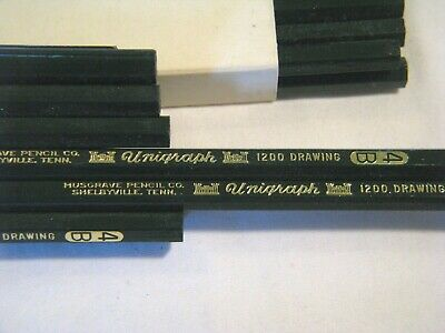 36 Musgrave Pencil Co Unigraph 1200 Drafting Drawing 4B