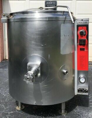 Vulcan Gas Steam Jacketed Kettle 40 Gallons FREE SHIPPING!!