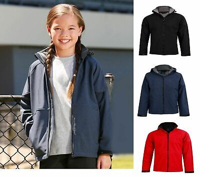 New Kids Boys Girls Aspen Softshell Hood Jackets Waterproof Overcoat Jackets