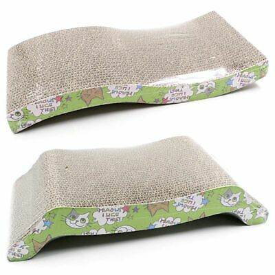 3X(Scratching Board For Cats With Catnip 41x20.5x4Cm W4D1)