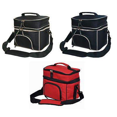 New 2 Layer Lunch Box Picnic Cooler Bag Camping Pack Sports Travel Work School