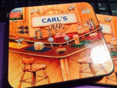 Decorative Coasters - name of Carl