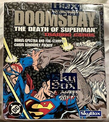 DOOMSDAY The Death Of Superman Trading Cards by SKYBOX 1992 - Factory Sealed