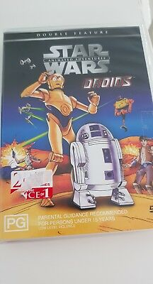 Star Wars - Droids -  Animated Adventures - DVD - 2 Full Length Features
