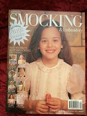 Australian Smocking & Embroidery magazine, Issue No. 44, 1998