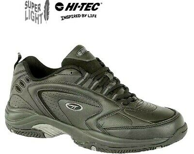 Hi-Tec Blast Lite Black Lace Up Sports Gym Trainers Mens Size 6 - 16 uk