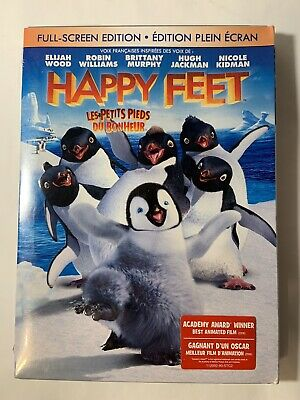 Happy Feet Full-Screen Edition Bilingual New Sealed DVD