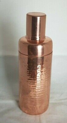 Beautiful Copper Cocktail Shaker (Height - 23 cm)