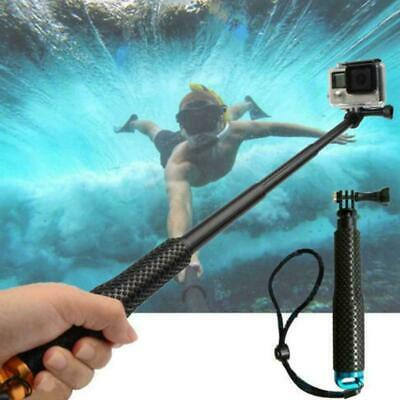 """19"""" 36"""" Waterproof Extension Pole Selfie Stick For GoPro Hero/Session6 4 3+ H2B0"""